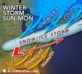 Accuweather graphic snippet